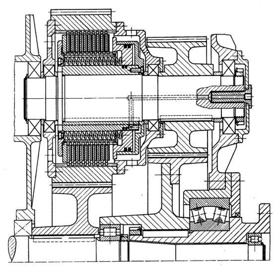 hidrolik kumandalı kavrama komple montaj resmi